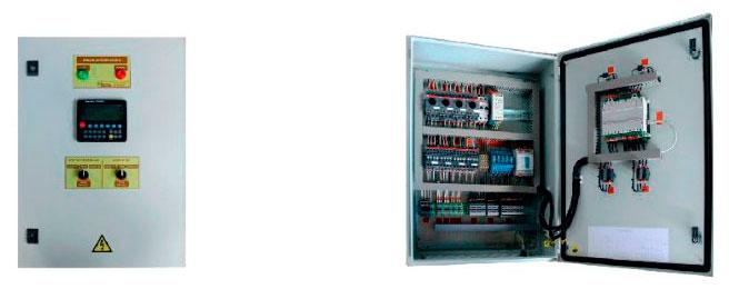 Шкаф управления контурами ГВС и отопления