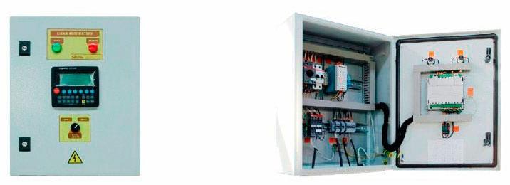 Шкаф управления контуром ГВС